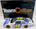 JIMMIE JOHNSON 2002 POWER OF PRIDE 1 24 TEAM CALIBER OWNERS SERIES BANK