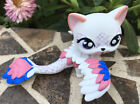 Mini Toy Pet Shop Custom Winged Short Hair Cat Ooak Custom Hand Painted Nice