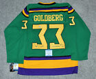 SHAUN WEISS SIGNED GOLDBERG THE MIGHTY DUCKS MOVIE HOCKEY JERSEY BECKETT COA BAS