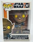Funko Pop Chewbacca Concept 387 Star Wars Celebration OFFICIAL NEW w PROTECTOR