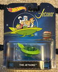 HOT WHEELS 2017 RETRO THE JETSONS SPACE MOBILE WITH STAND