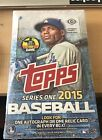 2015 Topps Baseball Series 1 Hobby Box Factory Sealed - Trout Autograph, Relic??