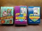 3 Box Lot.1991,1992 score open box with 36 wax packs and 1991 Donruss sealed box