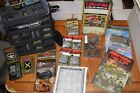 FOW Flames Of War US GERM Army Rules Collection Lot 15mm Many Extras Must See