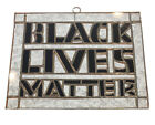 Black Lives Matter Handmade Stained Glass Sun Catcher 7X 55 Inches