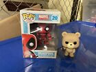 Wholesale lot 2 Funko Pops Deadpool MIB & Ted 2 beer bottle good condition