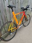 Cannondale Multisport 2000 CAAD 4aero 2x9 Speed 62 cm Tri TT Bike