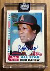 Rod Carew 2020 Topps Archives Signature Series Autograph #d 07 10 Auto (CT511)
