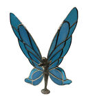 FAIRY Blue Handmade Stained Glass Sun Catcher 8X8Inches
