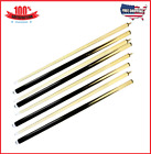 NEW Set Of 4 Billiard House Pool Cue Sticks Bar Table Hardwood Wooden Accessorie