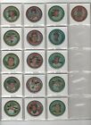 Near Complete 1971 Topps Baseball Coins Set 136 of 153 Coins Included