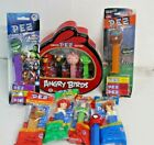 vintage pez dispensers Christmas-Halloween-Angry Bird Tin-Gator Football-NEW