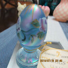 BEAUTIFUL FENTON EGG HAND PAINTED  SIGNED NUMBERED 1432 5000