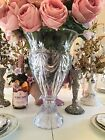 Huge heavy Crystal glass Design of Ireland Shannon Vase 16 Tall