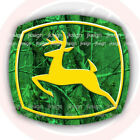 John Deere Decal Die-cut Fits On Window Truck Tractor Lawn Mover Car Wall Laptop