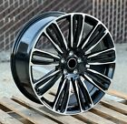 Dynamic Style 22x95 Black Machined Wheels Fit Land Rover Range Rover HSE SVR