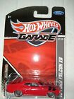 HOT WHEELS DIE CAST METAL GARAGE 73 FORD FALCON XB REAL RIDERS
