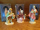 1992 FONTANINI Three 3 Wise Men 5 Heirloom Nativity Christmas Holiday