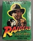 1981 Raiders of The Lost Ark Trading Cards - New Factory Sealed Box - 36 Packs