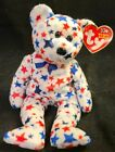 Ty Beanie Baby - RED, WHITE & BLUE the Bear TAGS *k98