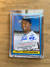 PEDRO MARTINEZ 2020 ARCHIVES 1976 TRADED AUTOGRAPH CARD GOLD 40 50 ONLY 50!