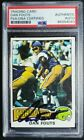 1975 Topps #367 Dan Fouts Signed Rookie Card Autograph RC Auto PSA DNA Chargers