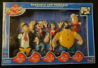 POPEYE  FRIENDS Complete Set Bendable Classic TV Series Figures Retro Bendy