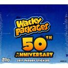 2017 TOPPS WACKY PACKAGES 50th ANNIVERSARY BOX New Sealed