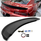 Matte Black For 2014 2015 Chevy Camaro SS Factory Z28 Blade Style Spoiler Wing