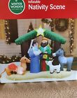 CHRISTMAS INFLATABLE NEW NATIVITY SCENE YARD DECORATION