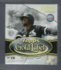 2020 Topps Gold Label Baseball Hobby Box Factory Sealed