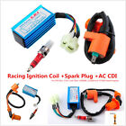Performance Racing Ignition Coil AC CDI Spark Plug GY6 50cc 150cc ATV Scooters