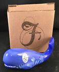Fenton for PNWFA Periwinkle Blue HP Whale Special Order Limited Edition in 2004