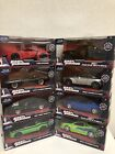 Fast and Furious Jada Die Cast Lot scale 1 32 Lot Of 8 Jada Die cast