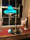 MANHATTAN BRASS CO STUDENT LAMP Perfection Extra ELECTRIFIED