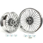 Chrome 2118 Front Rear Wheels Set Softail FLSTF Dyna FXDWG Touring Super Glide