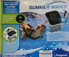 Summer Waves Salt Water System for Above Ground Pool Intex 7000gal Touch screen