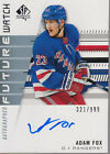 Hockey Card Design Evolution: SP Authentic Future Watch Rookie Card 5