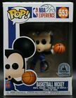 Funko Pop NBA Experience Basketball Mickey #553 Disney Parks Exclusive -not Mint