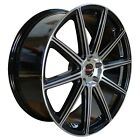 4 G42 20 inch Staggered Black Rims fits LEXUS GS 350 AWD 2007 2020