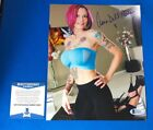 ANNA BELL PEAKS SIGNED AUTOGRAPHED 8x10 PHOTO XXX PORN ACTRESS BECKETT V52352