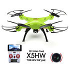X5HW 24G 4CH 6Axis FPV Drone With WIFI 03MP HD Camera Hover RC +US