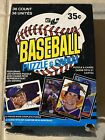UNOPENED 1985 DONRUSS LEAF WAX BOX (36 PACKS) - POSSIBLE CLEMENS RC, PUCKETT RC
