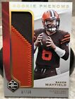 2018 Panini Baker Mayfield Limited Rookie Phenoms Jersey Patch Card! SP #07 50!!