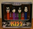 PEZ Kiss Gift Tin (2012) Demon, Starchild, Catman, Spaceman
