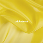 Yellow Organza Fabric By The Yard Crystal Sheer 54 Width Wholesale Price
