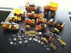 46 Pc Construction Toys Utility Truck 2 Bobcats Cat Dump Truck Road Pavers