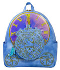 Disney Cinderella Backpack Limited Edition Pink Iridescent and Blue