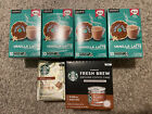 Donut Shop K cup Pods 10ct+ Starbucks Fresh Brew Cans+ Ground Golden Turmeric