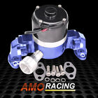 Aluminum Blue High Flow Electric Water Pump Fits SB Chevy SBC Engines 350